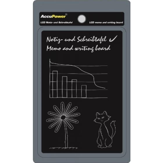 AccuPower LCD E-WRITER - die praktische Schreib- und Zeichentafel