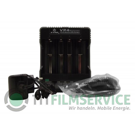 XTAR Ladegerät VP4, Premium Li-Ion LCD Charger