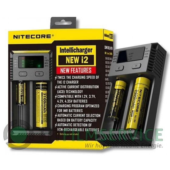 Nitecore NEW i2 Intellicharger Ladegerät