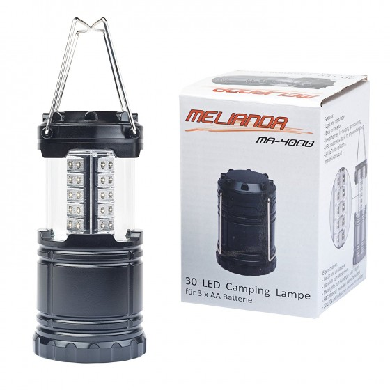 LED Campinglampe Melianda MA-4000 / MA-4010 Twin Pack