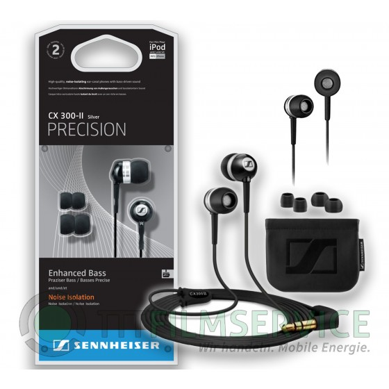 Sennheiser Precision CX 300-II black, In-Ear Kopfhörer