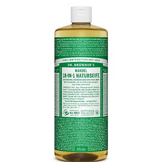 Dr. Bronner's Naturseife Flüssigseife Mandel 945 ml