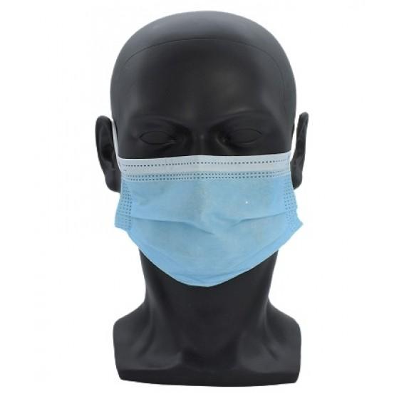 Einweg Mundschutz 3-lagig Atemschutz Maske Hygieneschutz - medizinisches Produkt -