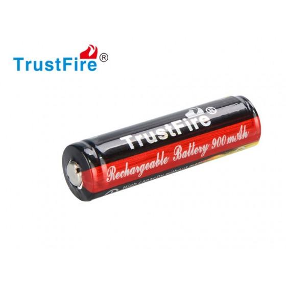 Trustfire 14500 900mAh 3,7V geschützte Li-Ion-Zelle (Flame)