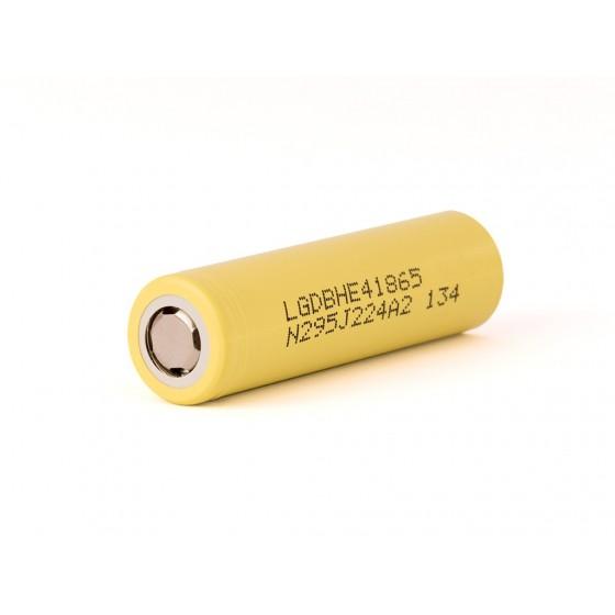 LG ICR 18650-HE4 - 2500mAh 3,6V - 3,7V Lithium-Akku