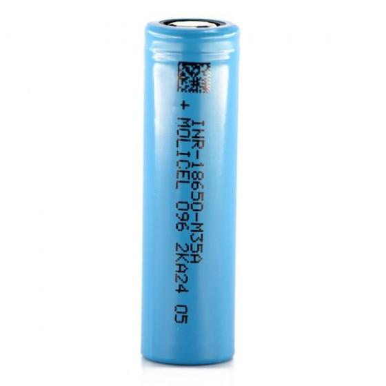 Molicel INR18650-M35A 3500mAh 10A Li-Ionen-Akku, 3,6V - 3,7V Lithium Ionen Akku