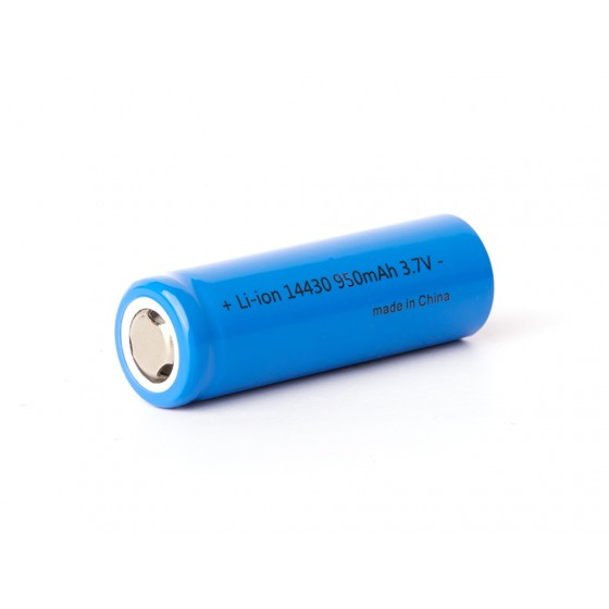 Industrie 14430 - 950mAh 3,6V - 3,7V Lithium-Ionen-Zelle (ohne Schutzelektronik)