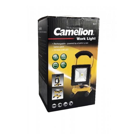 Camelion S21-CB 10W COB LED Akku Strahler Work
