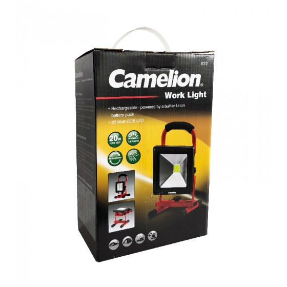 Camelion S22-CB 20W COB LED Akku Strahler