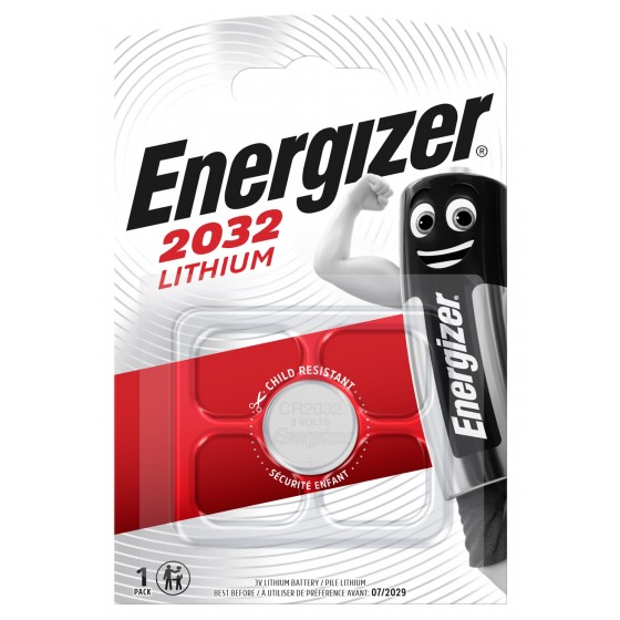 Energizer CR2032 3V Lithium im 1er Blister