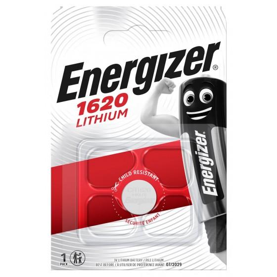Energizer CR1620 3V Lithium im 1er-Blister