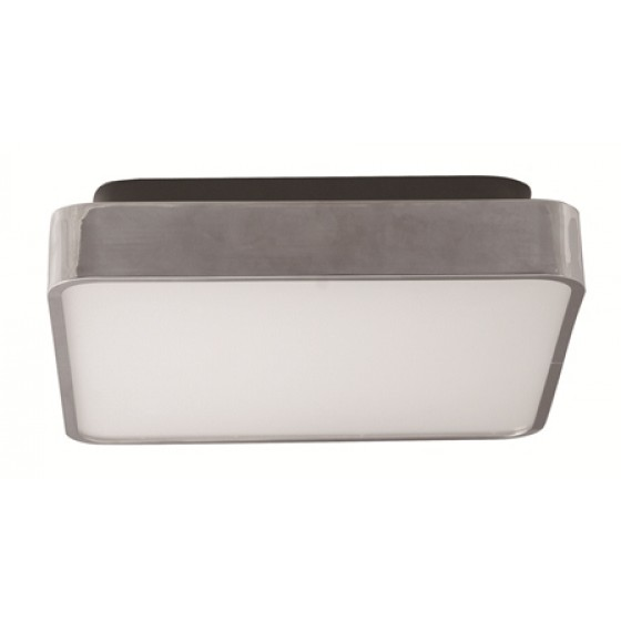 Polaroid LED Deckenleuchte 18W, 1323 Lumen, 4000K, weiß-silber