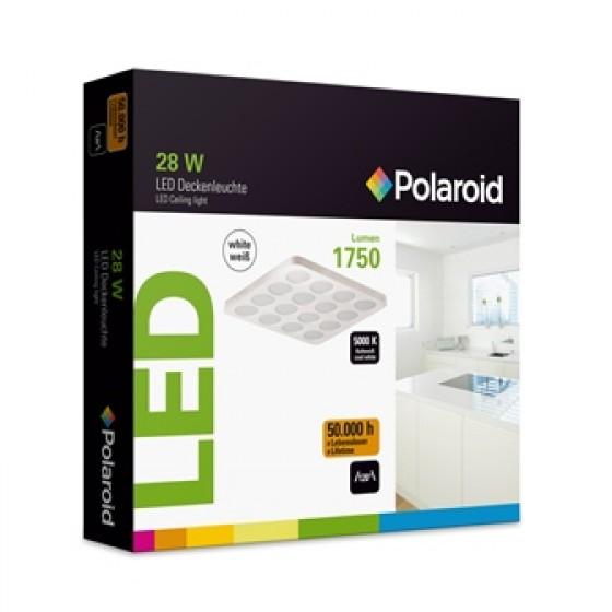 ttt filmservice gmbh polaroid led deckenleuchte 28w 1350 lumen 5000 k wei kleine lochung. Black Bedroom Furniture Sets. Home Design Ideas