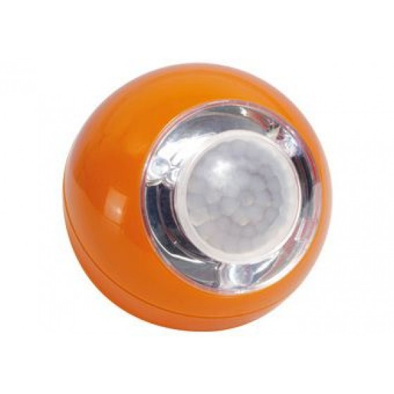 LED Lichtball mit Bewegungsmelder LLL742 orange