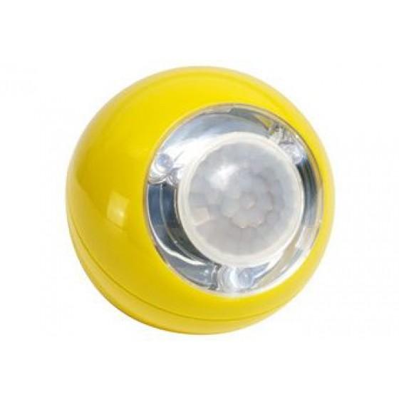 LED Lichtball mit Bewegungsmelder LLL759 gelb
