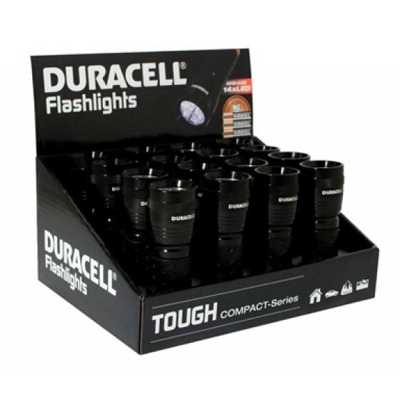 Duracell Flashlights Tough CMP-5 Compact-Serie mit 14 LEDs im 16er-Display