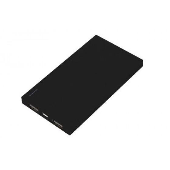 Solutions2Go Powerbank Flat 4000mAh schwarz