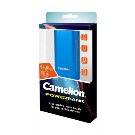 Camelion USB Power-Bank PS626  Li-Ion Akkupack 4.400mAh blau
