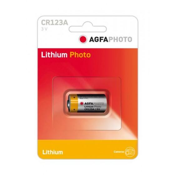 AGFAPHOTO CR123A in 1er-Blister 3V Lithium
