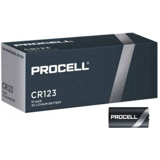 Duracell PROCELL 123 (CR17345) Lithium 3V in 10er- Box