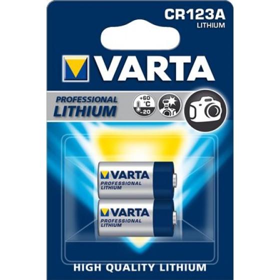 Varta CR123A 6205 301 402  3V Lithium in 2er-Blister