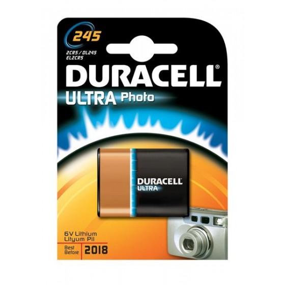 Duracell DL245 Ultra (2CR5) 6V Lithium in 1er-Blister
