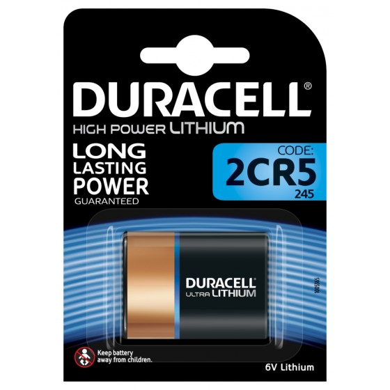 Duracell DL245 Ultra (2CR5) 6V Lithium in 1er-Blister
