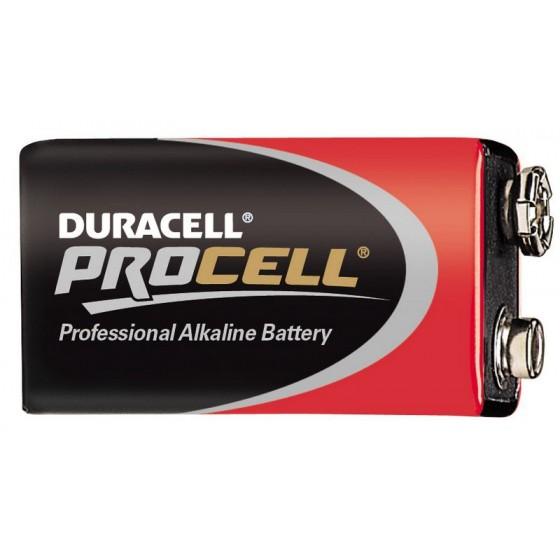 Duracell PROCELL 9V E-Block MN1604 in 10er-Box