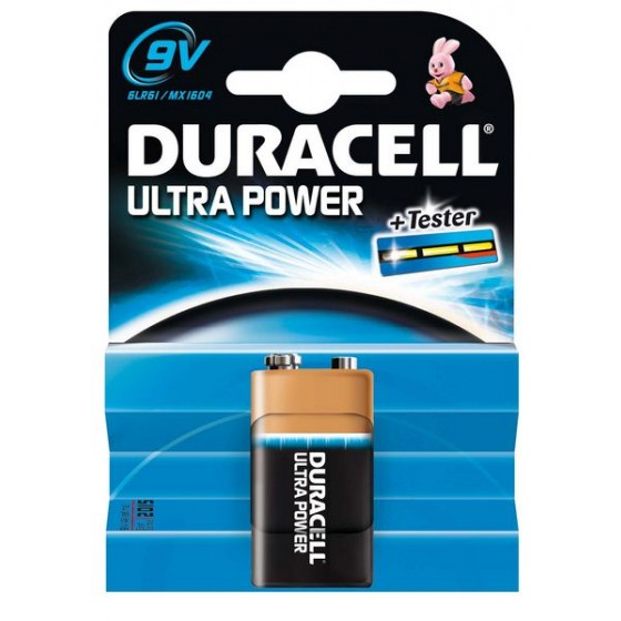 Duracell 9V E-Block MX1604 Ultra Power in 1er-Blister