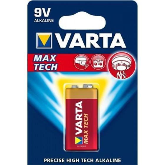 Varta 9V-Block 4722 101 401 LONGLIFE Max Power in 1er-Blister - DE -