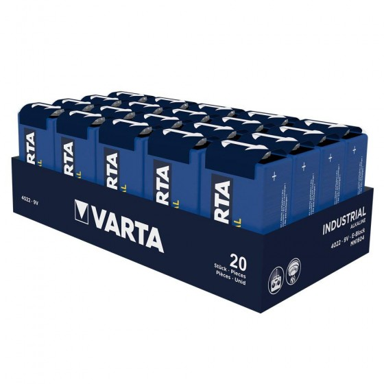 Varta 9V E-Block 4022 211 111 Industrial in 20er-Folie