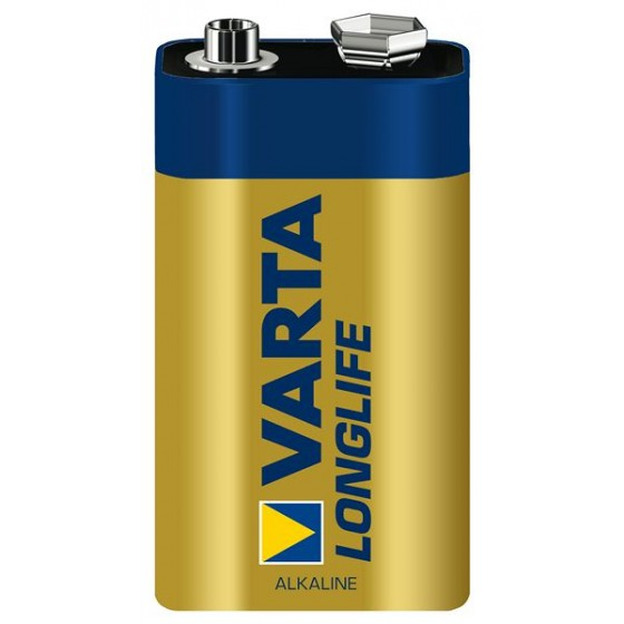 Varta 9V-Block 4122 101 111 Longlife Extra in 20er-Folie
