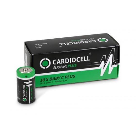 CARDIOCELL Baby PLUS C - LR14 Alkaline in 10er-Box (2er-Folie)