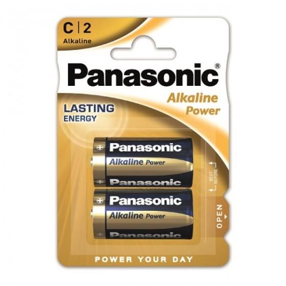 Panasonic Baby Alkaline Power LR14 (C) in 2er-Blister