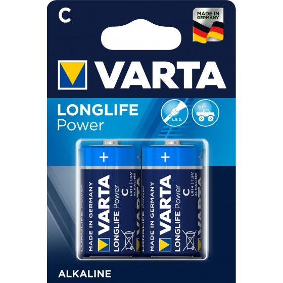 Varta Baby 4914 110 412 LONGLIFE Power in 2er-Blister - DE -
