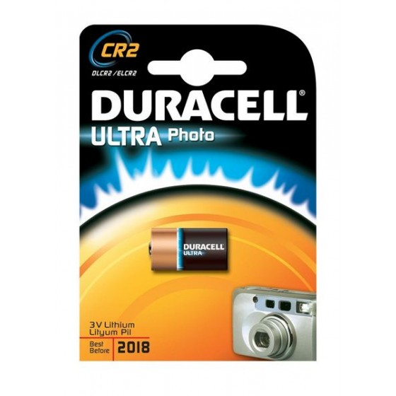 Duracell CR2 (CR17355) Ultra 3V Lithium in 1er-Blister