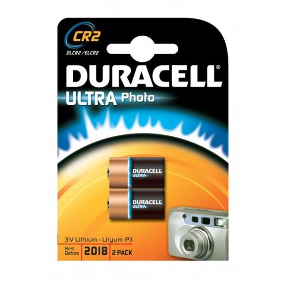 Duracell CR2 (CR17355) Ultra 3V Lithium im 2er-Blister