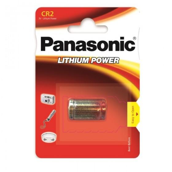 Panasonic CR2  3V Lithium in 1er-Blister