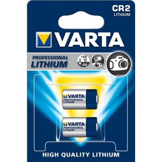 Varta CR2 6206 301 402 3V Lithium in 2er-Blister