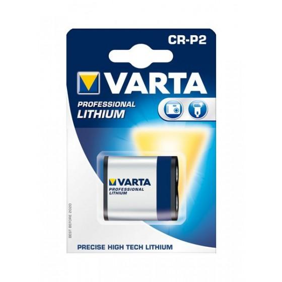 Varta CR-P2 6204 301 401 6V Lithium in 1er-Blister