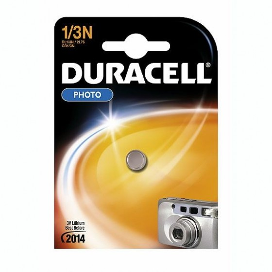 Duracell DL1/3N 3V Lithium (K58L/CR1108) in 1er-Blister
