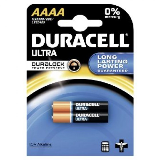 Duracell MX2500 Ultra (AAAA/LR61) in 2er-Blister