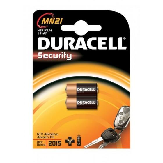 Duracell MN21 12V (V23GA/L1028/RV08/8LR932) in 2er-Blister