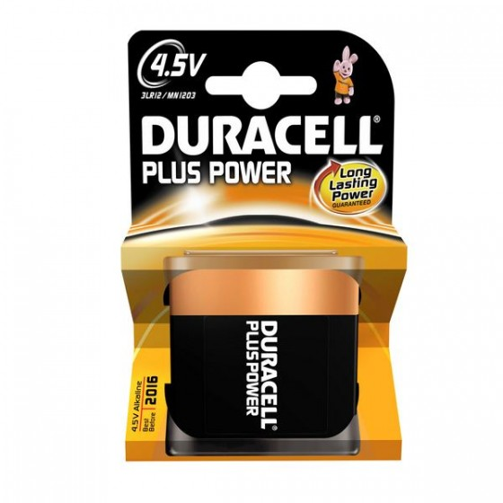 Duracell Flachbatterie MN1203 Plus Power 3LR12 1er-Blister