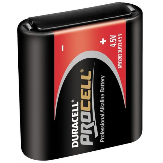 Duracell PROCELL MN1203 Flachbatterie in 10er-Box