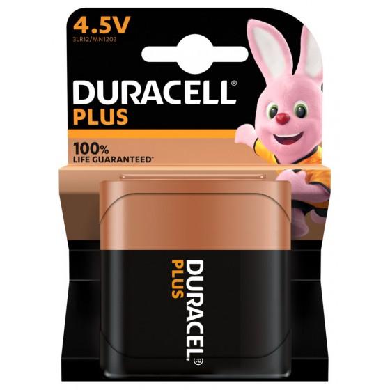 Duracell Flachbatterie MN1203/3LR12 Plus 4,5V in 1er-Blister *100% LIFE GUARANTEED*