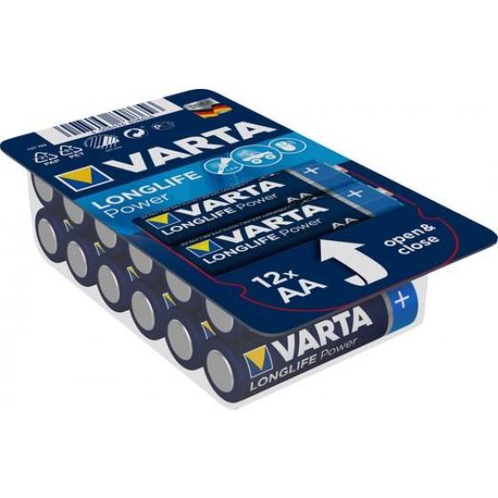 Varta Mignon 4906 301 112 LONGLIFE Power Big Box 12erAA