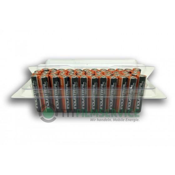 48er-Box bestückt mit Duracell Industrial Micro MN2400
