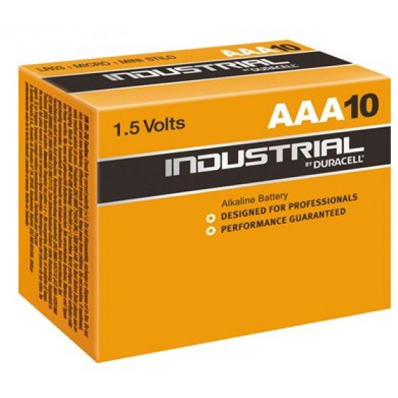 Duracell Industrial Micro MN2400 in 10er-Box