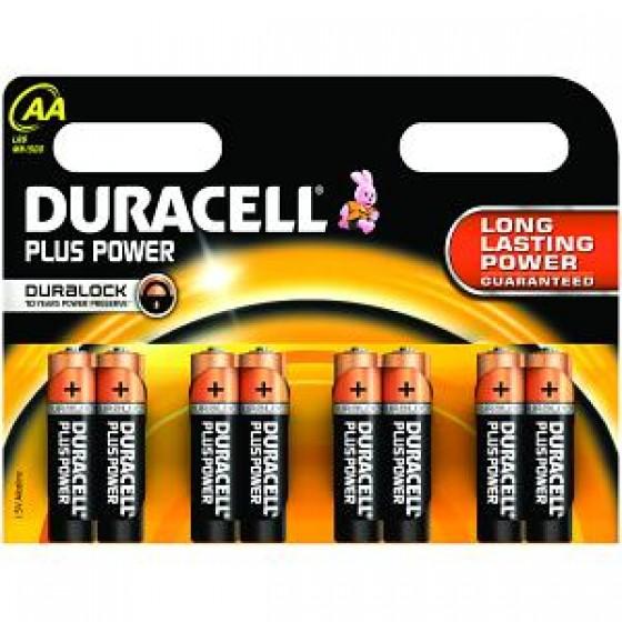 Duracell Micro MN2400 Plus Power Duralock in 8er-Blister